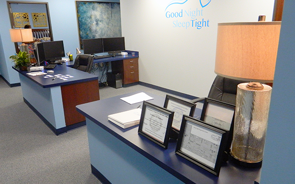 Sleep Tight Diagnostic Center Front Desk